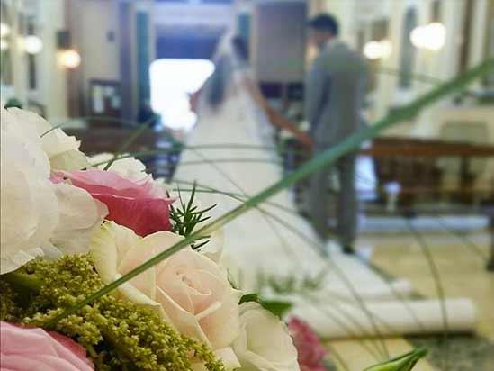 sposi in chiesa