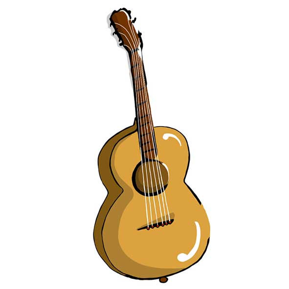 disegno chitarra