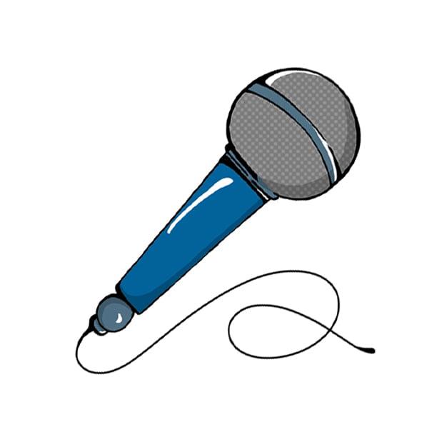 disegno microfono