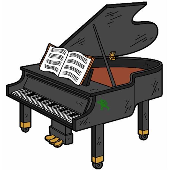 disegno pianoforte
