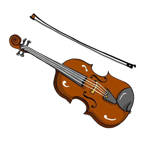 disegno violino